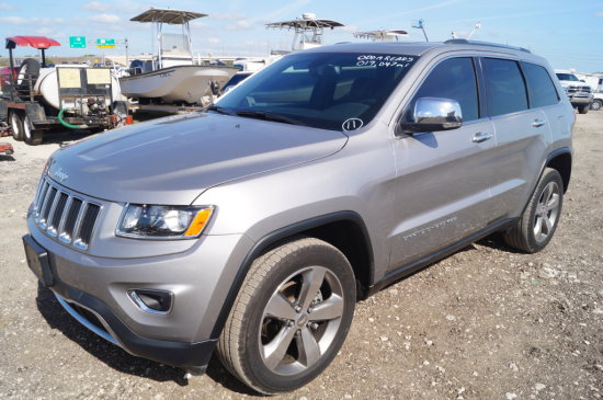 2015 Jeep Grand Cherokee Limited Sport Utility Vehicle