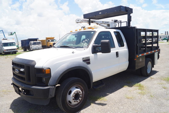 2009 Ford F-450 XL Super Duty Extended Cab Crane Truck
