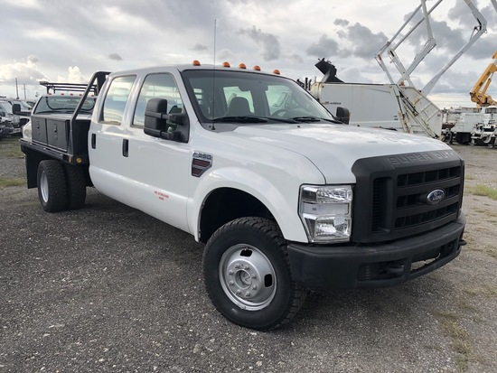 Ford F-350 Crew Cab Flatbed Pickup Truck