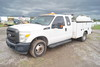 2011 Ford F-350 XL Super Duty  Extended Cab Crane Truck
