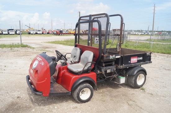 Toro Workman 3100 Utility Dump Cart Scissor Lift