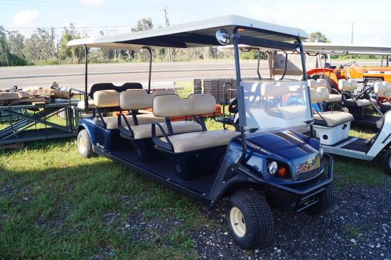 2013 Cushman Shuttle 8 48 Volt 8 Passenger Golf Cart