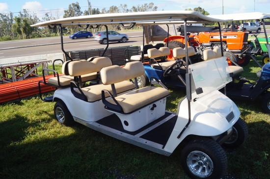 E-Z Go 6 Passenger Electric Golf Cart