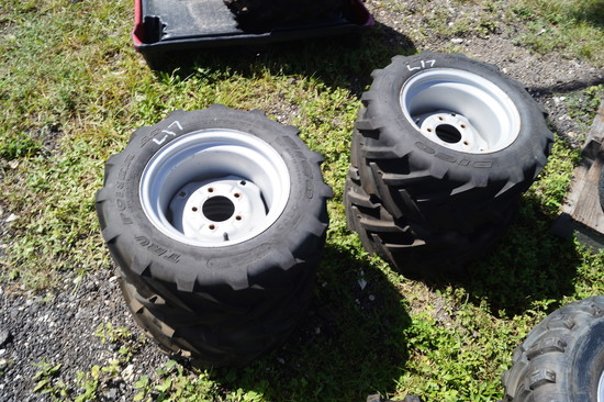4 Kubota RTV Tires and Wheels