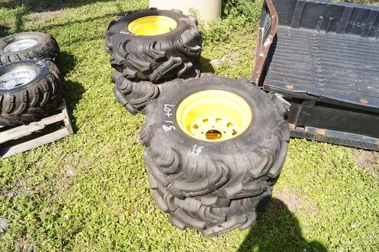 4 John Deere Gator Tires and Wheels
