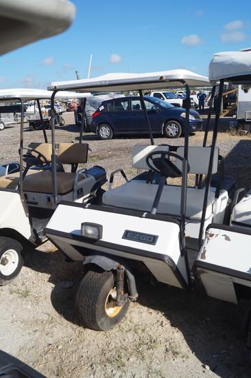 3 Wheel E-Z Go Golf Cart Not Running