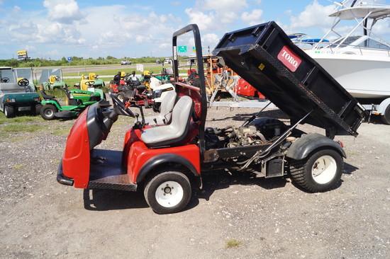 2007 Toro Workman 3200 Hydraulic Dump Cart