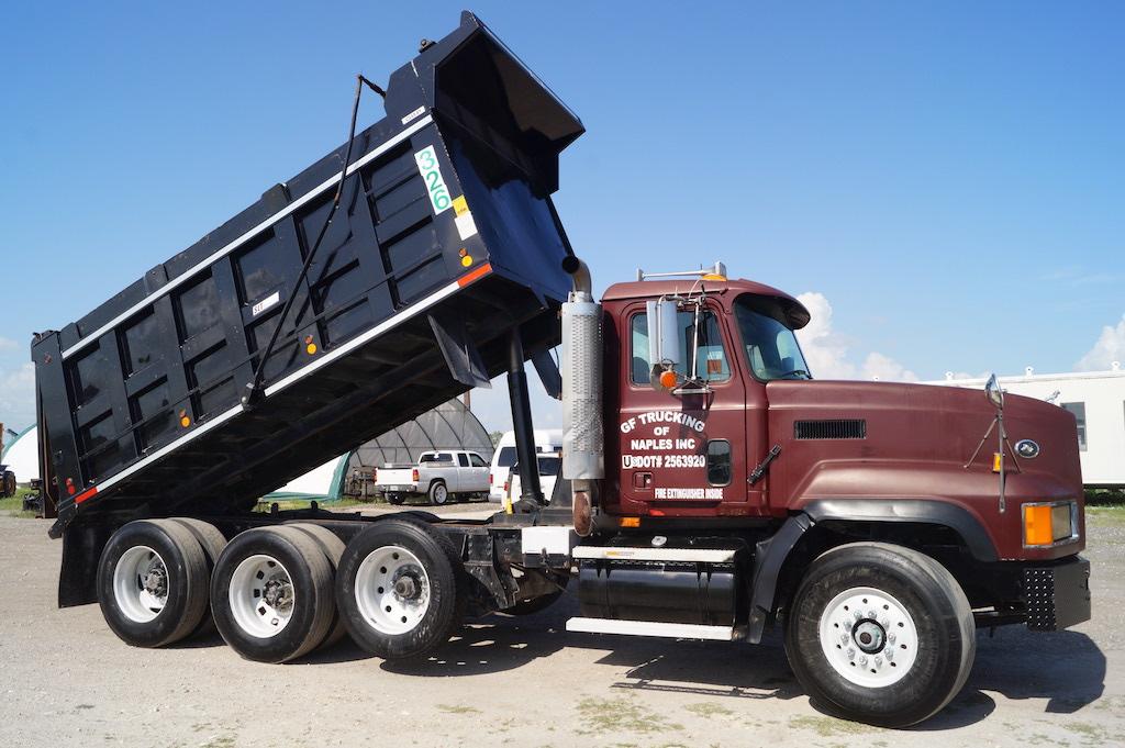 1999 Mack CL713 Tri-Axle Dump Truck | Commercial Trucks ... Mobile Home Axle Kes on