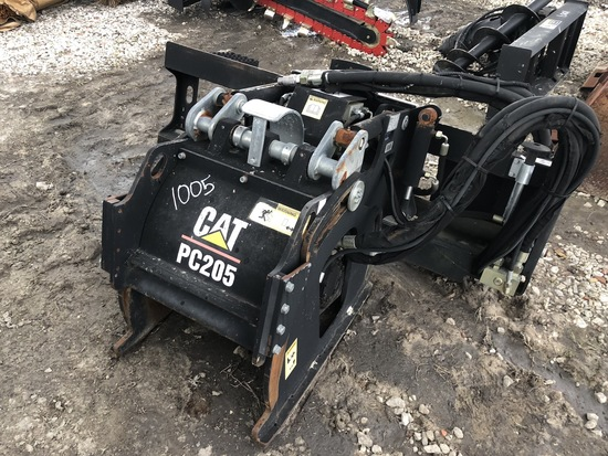 Cat PC205 Skid Steer Hydraulic Planer Attachment