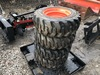 Set of New Skid Steer Tires and Wheels 10-16.5