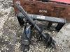 Hydraulic Auger Skid Steer Attachment