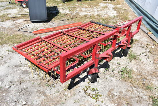 Woodbury FDS 8ft Spring Rake 3 Pt Attachment