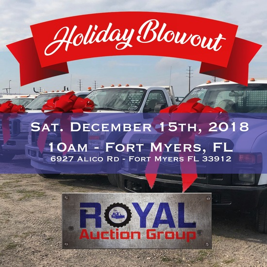 Holiday Gov't Surplus and Consignment Auction