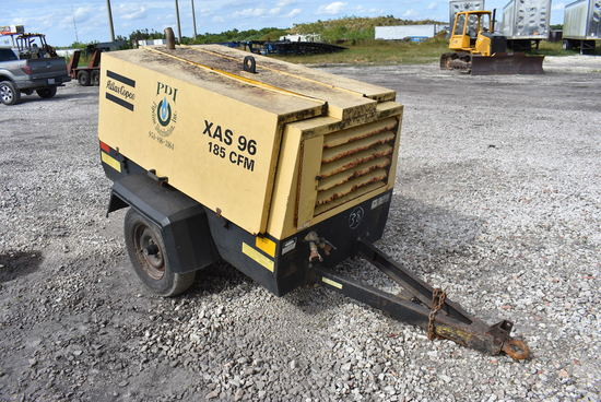 Atlas Copco XAS96 Portable Diesel Air Compressor