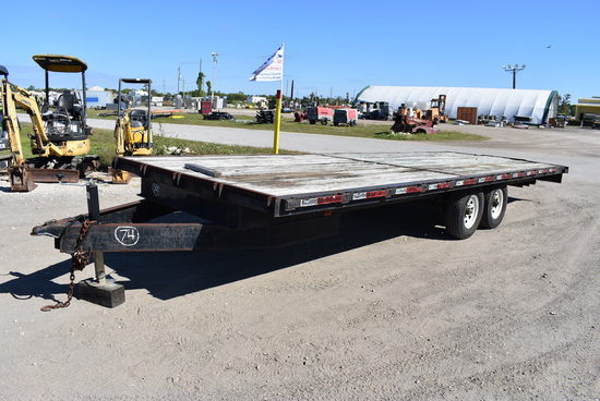 24x8ft Flatbed Homemade Trailer