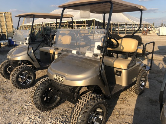 2017 EZ-G0 48 Volt Electric Golf Cart