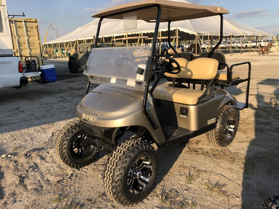 2015 EZ-G0 48 Volt Electric Golf Cart