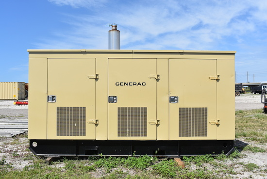 Generac 125KW 3 Phase Commercial Generator