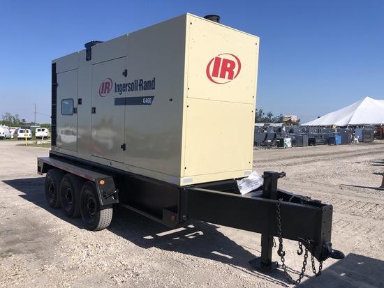 2004 Ingersol Rand G460 460KW 3 Phase Generator Set Trailer