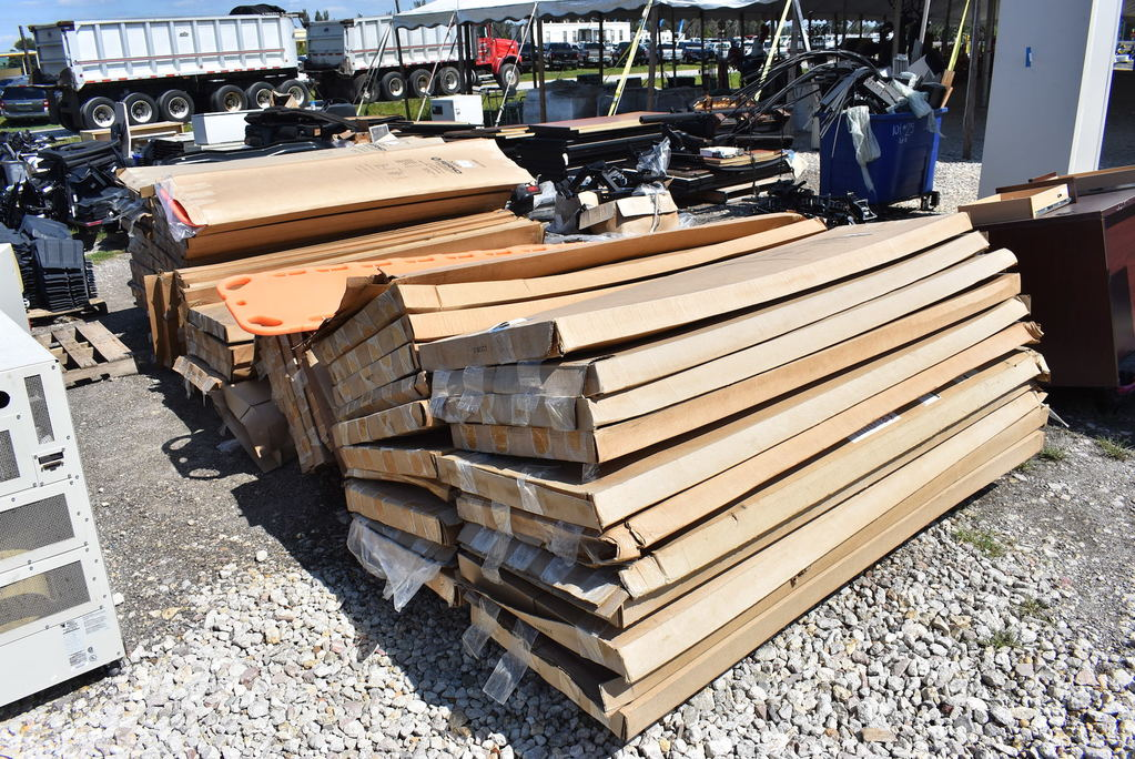 3 Pallets with Body Board Litters
