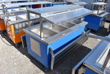 Delfield Portable 3 Well Hot Serving Counter