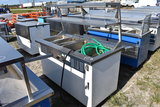 Delfield KH-4-NU Heated Serving Counter with Upper Rack