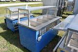 Delfield KH-4-NU Portable 4 Well Hot Serving Counter