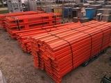Heavy Duty Industrial Racks Orange Color