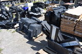 Approx 8 Pallets of Police Car Consoles and Parts