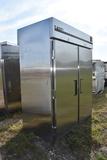 True TR2RRT-2S-2S Double Door and Opening Commercial Stainless Refrigerator