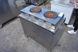 Market Forge M18HPE Commercial Stainless Double Burner Cooker