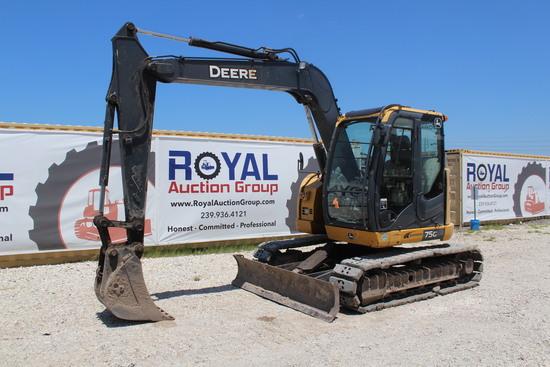 2014 John Deere 75G Hydraulic Midi Excavator
