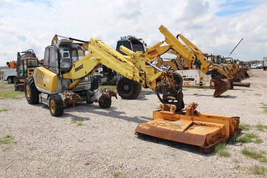 2004 Menzi Muck A91 4x4 Walking Wheeled Excavator