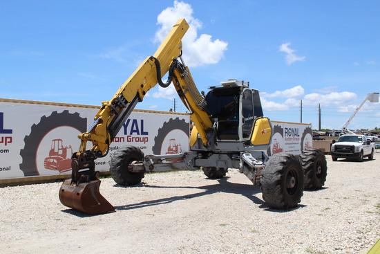 2012 Menzi Muck A91F 4x4+ Walking Wheeled Excavator