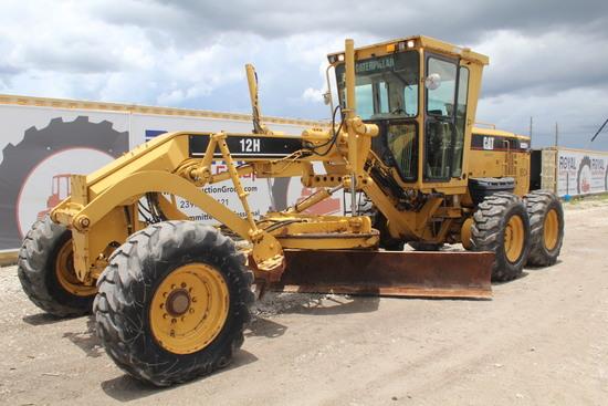 2007 Caterpillar 12H 6x6 Motor Grader