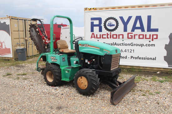 2012 Ditch Witch RT45 Ride On Grading Trench Tractor