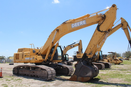 2006 John Deere 450C LC Hydraulic Excavator