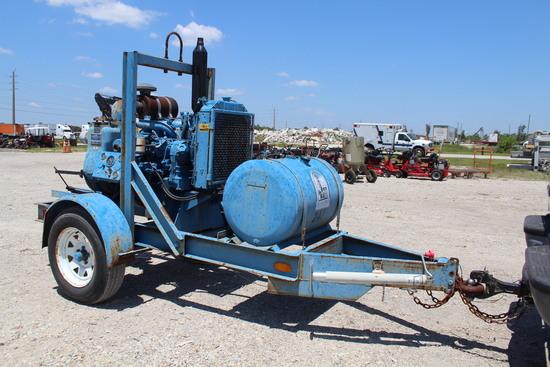 4in Gorman Rupp Tow Behind Diesel Centrifugal Pump