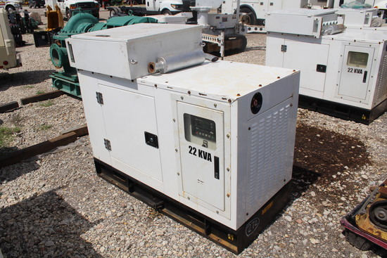 22 kVA Diesel Generator with Transfer Switch