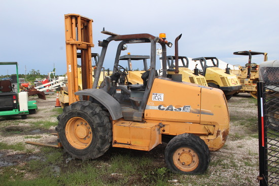 2005 Case 586D 6,000lb 4x4 All Terrain Forklift