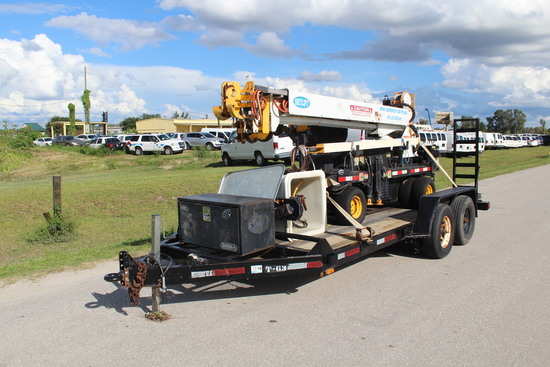 Skylift mini-Derrick 33 Plus Digger Derrick Unit with T/A Trailer
