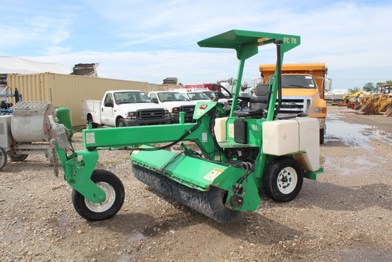 Lay-Mor SM300 Sweeper Master Tow Behind and Drivable Sweeper