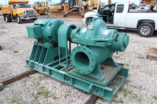 2017 Taco 3000 GPM 150HP Industrial Pump and Motor