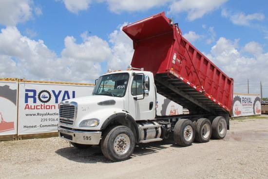 2012 Freightliner M2 Tri Axle Dump Truck