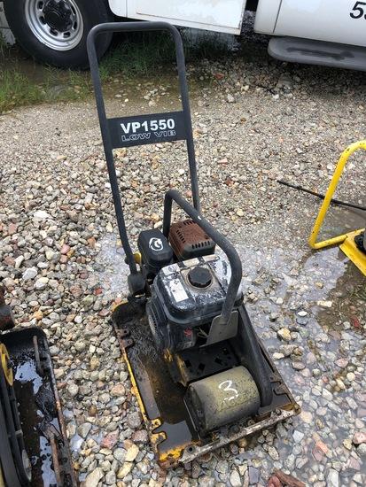 Wacker VP1550 Vibratory plate compactor