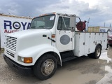 2002 International 4700 Service Mechanics Truck