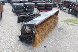 Caterpillar BA118C Skid Steer Broom Attachment