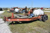Ditch Witch JT520 Tracked Direction Drill and Trailer