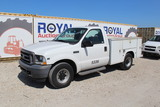 2004 Ford F-250 XL Super Duty Service Truck