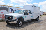 2007 Ford F-450 Crew Cab Enclosed Utility Truck